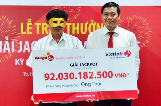 Hôm nay ngày 24/5, phần thưởng của giải Jackpot có thể vượt 100 tỷ VNĐ